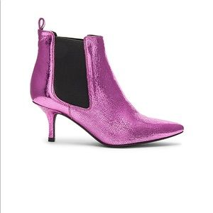 ANINE BING STEVIE BOOTS PINK CRACKLE